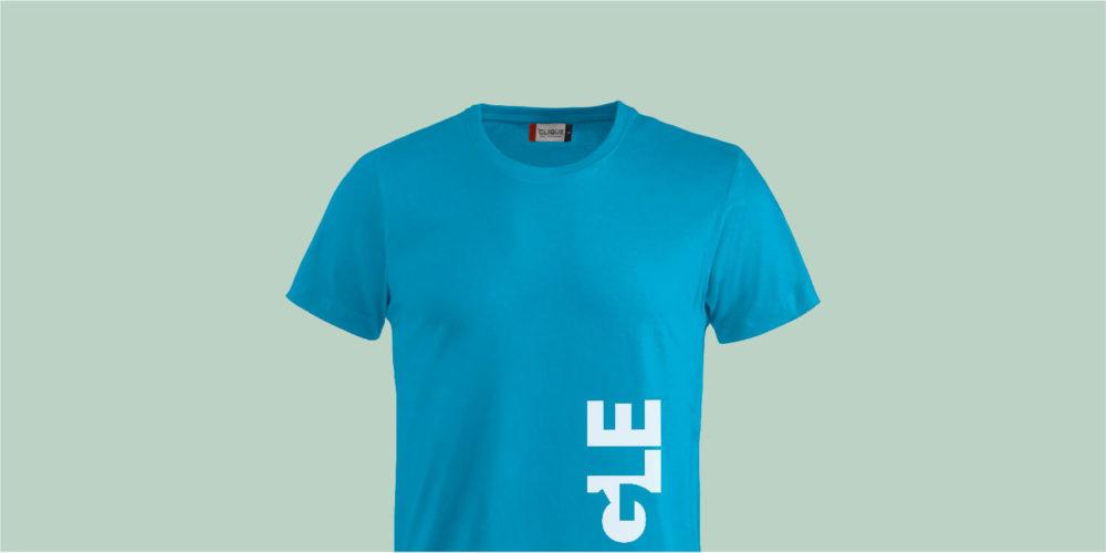 T-Shirt für Damen, Herren und Unisex (türkis) mit OEKO-TEX-Zertifizierung