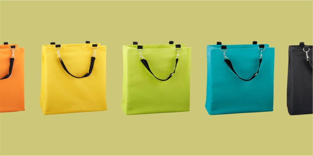 Beach shopper as a promotional item idea