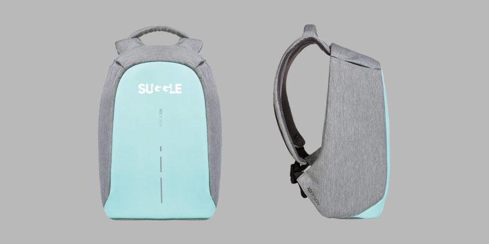 Anti-Diebstahl-Rucksack mit Branding