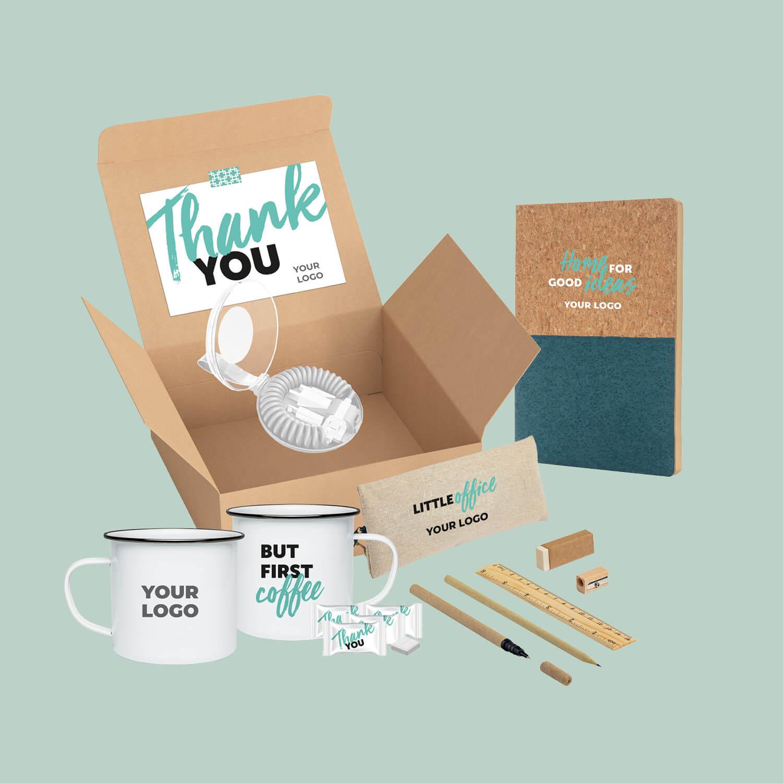 Homeoffice-Box: Dankeschön für Mitarbeiter