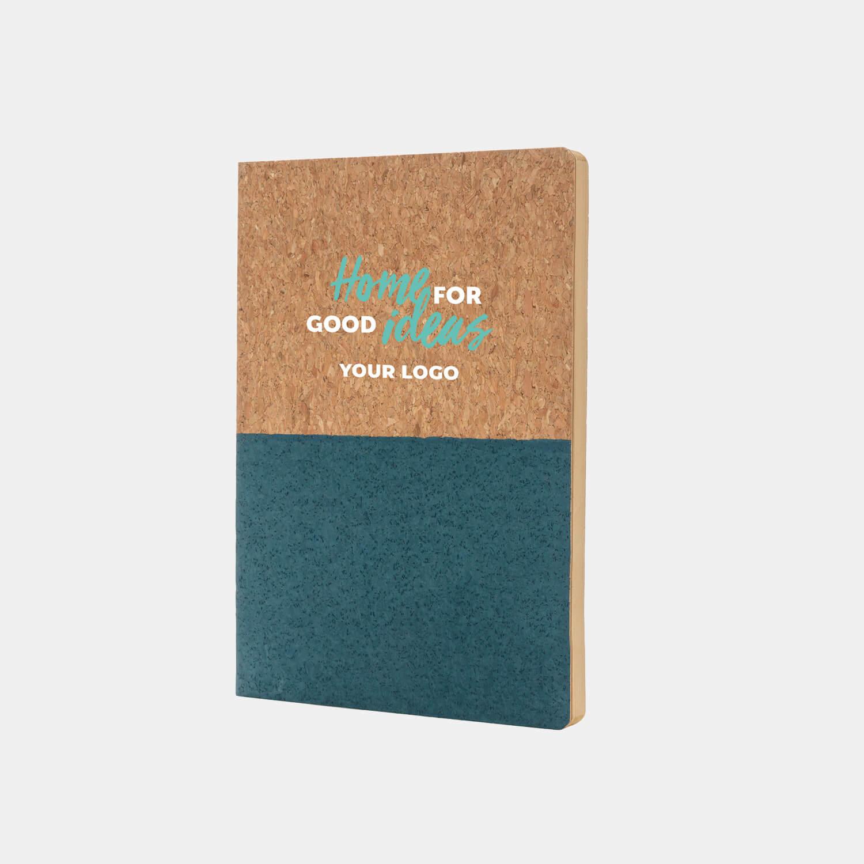 Mitarbeiter-Geschenke-Homeoffice-Box-A5 Notizbuch aus Kork