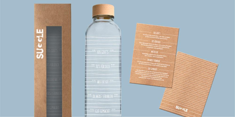 SUGGLE - Trink-mehr-Flasche
