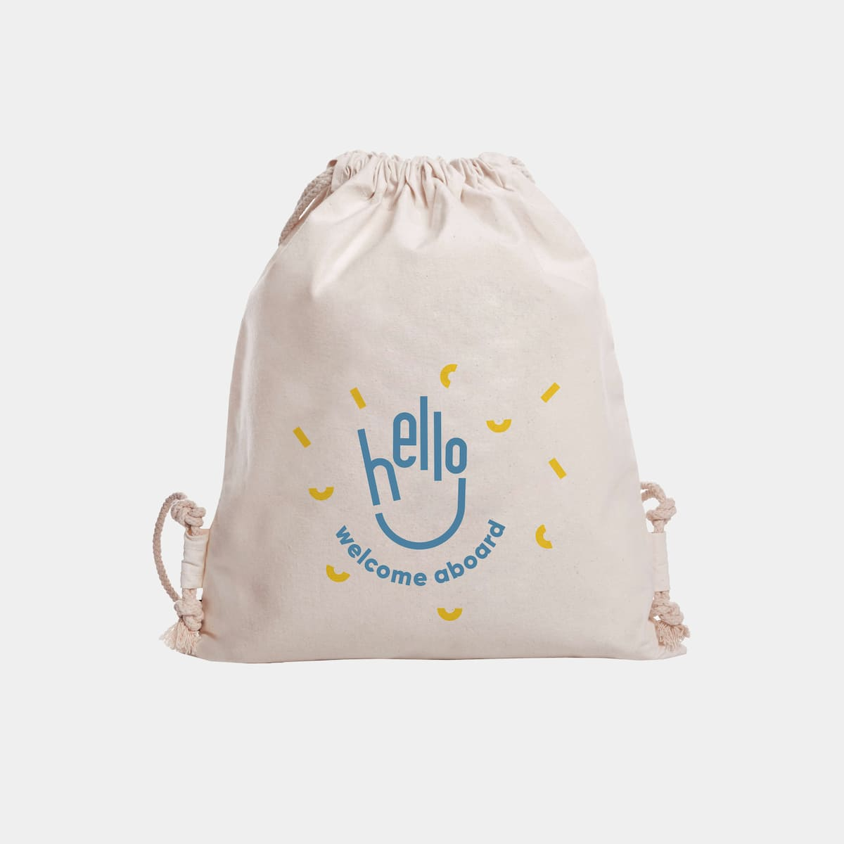 Drawstring Bag - Onboarding-box-gift first-day employees