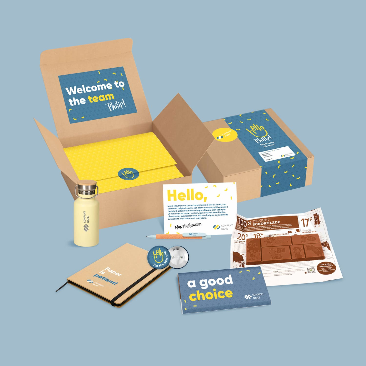 Onboarding-box-gift first-day employees